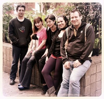 Oswaldo Valdovinos, María Teresa Adalid, Itzel Casas, Roxana Rosas, Daniel de Jesús Pérez Vázquez