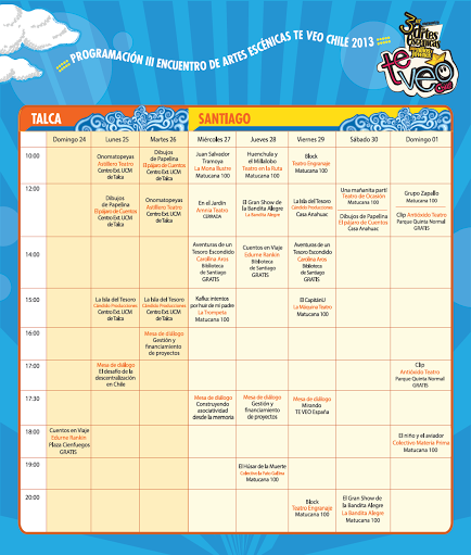 Onomatopeyas en el Festival TVEO Chile